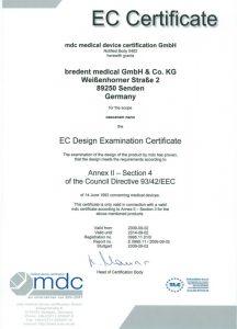 medical_EG-Zertifikat_Anhang-II_Abschnitt-4_englisch