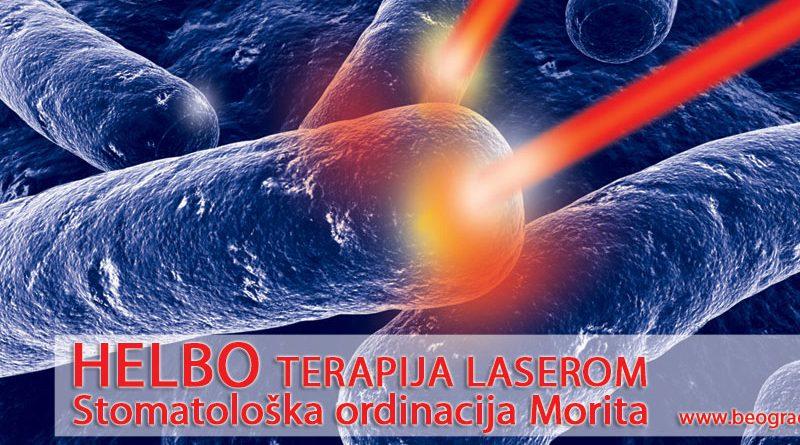 Helbo terapija laserom – lečenje parodontopatije